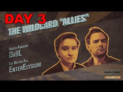Hearts of Iron 4 - Waking the Tiger - Three Day War - Great Britain and the Wildcard Allies - Day 3