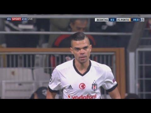 Pepe vs FC Porto (Home) (21/11/2017) UCL 17-18 720p HD
