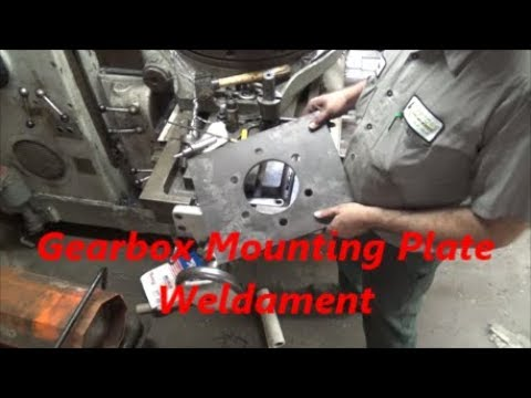 Fabricating a Gearbox Mount