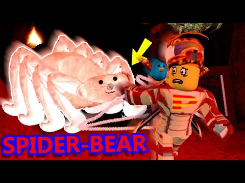 BEAR TURNS INTO SPIDER-BEAR!! | The Weird Side Of Roblox: Bear