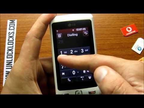 How To Unlock LG Cookie KP501 Orange By Unlock Code From UnlockLocks.COM