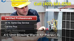 A C Unit Blowing Warm Air Pierson FL (407) 641-2768