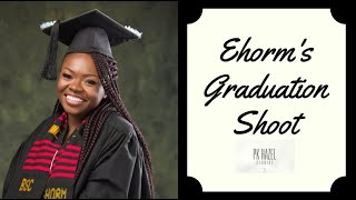 Graduation Photoshoot at PK Hazel Studios