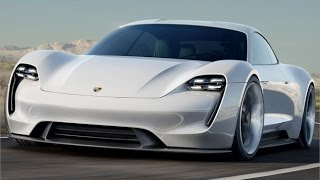Car Design: Porsche Mission E Concept (Exterior)