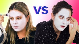 Artist Vs. Makeup Artist: Creepy Clown Challenge