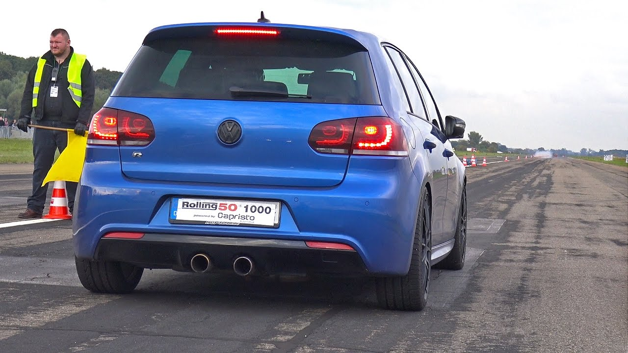 volkswagen golf 6 r 3 6 hgp biturbo accelerations sounds. Black Bedroom Furniture Sets. Home Design Ideas