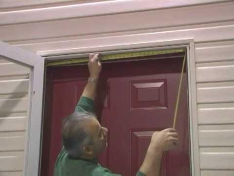 HMI Door - Expander Frame Installation & HMI Door - Expander Frame Installation - YouTube
