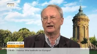 Klaus Staeck zur möglichen Strafverfolgung des Satirikers Jan Böhmermann