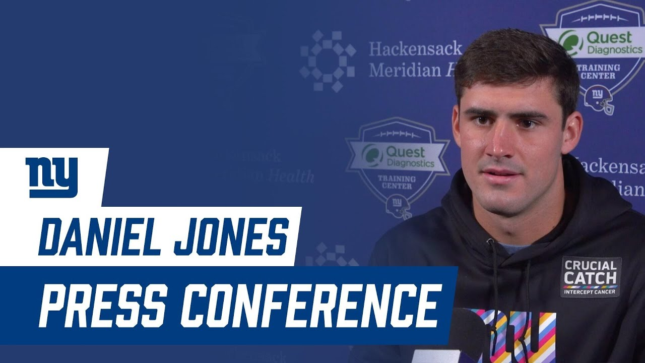 """Daniel Jones on Bucs Matchup: """"We have to be prepared regardless of the circumstance"""""""