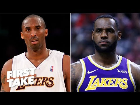 Kobe feels LeBron will not be loved by Lakers fans until he gets a ring – Stephen A. | First Take