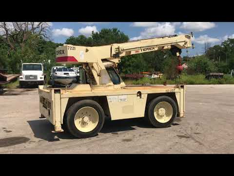 Terex D851 Industrial Carry Deck Crane