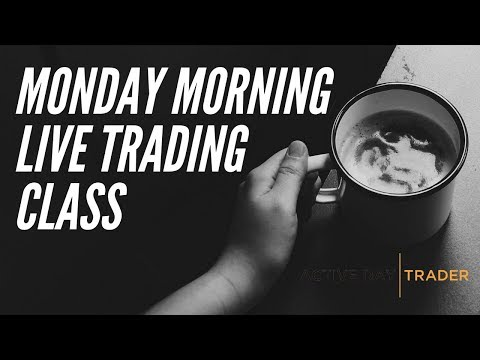 Monday Morning LIVE Trader's Class - How to Trade Stock Options