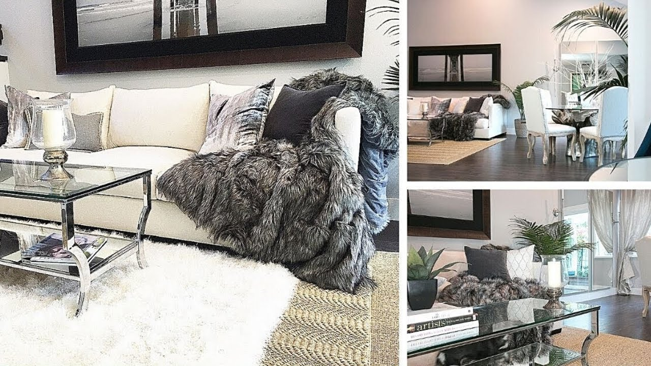 Small Rectangle Living Room Decorating Ideas 2 Marble Floor Design Pictures How To Combine And Dining Episode 1 Youtube