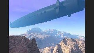 UKRAINE UFO!!!  CONFIRMED US BLACK PROJECT(SKY DREADNOUGHT) TOP SECRET WEAPON OF NWO!!