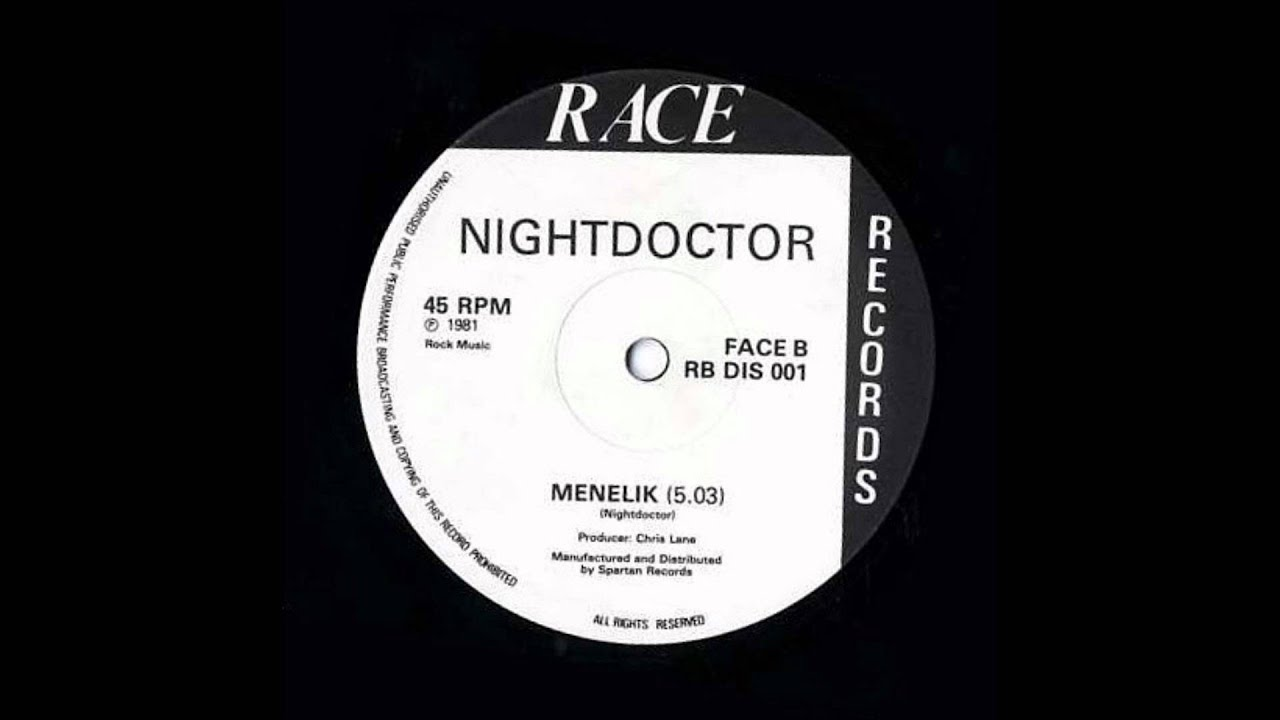 12'' Night Doctor - Menelik