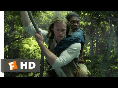 The Legend of Tarzan (2016) - Train Fight Scene (3/9)   Movieclips