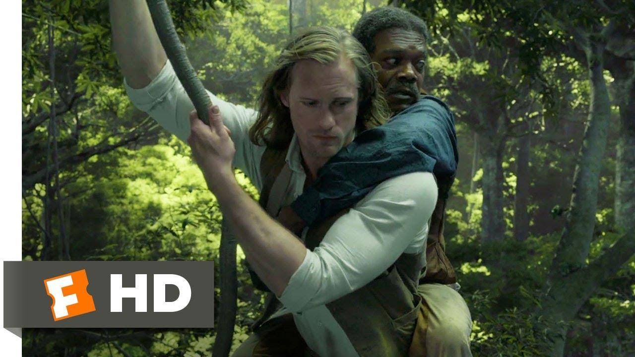 Download The Legend of Tarzan (2016) - Train Fight Scene (3/9) | Movieclips