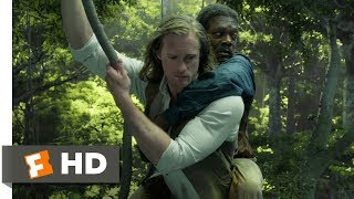 The Legend of Tarzan (2016) - Train Fight Scene (3/9) | Movieclips