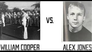 2016 The REAL Bill Cooper Vs. Alex Jones Showdown By Timeline