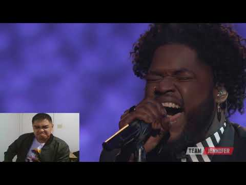 The Voice 2017 Davon Fleming Semifinals - Gravity (Reaction)