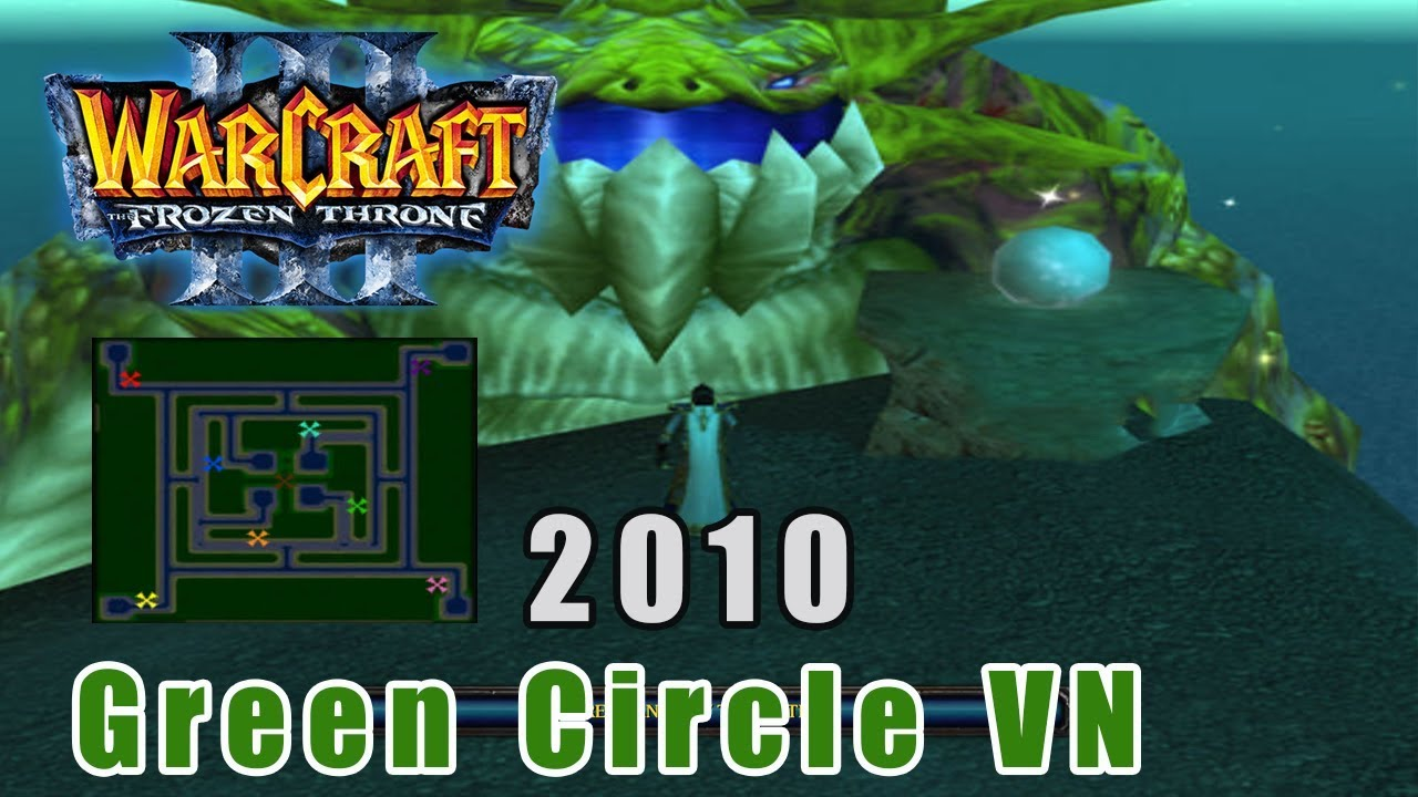Warcraft 3: Green Circle VN 2010 – Map Green TD khó | Mad Tigerrr