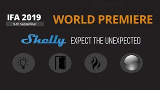 IFA 2019. Shelly new products launch