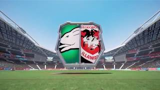 Rugby League Live 4 (PS4) Rabbitohs vs Dragons (2018 round 10)