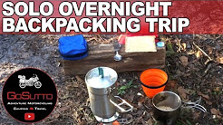 Solo Overnight Backpacking Trip in Central Florida