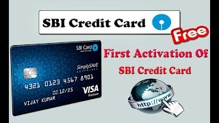 SBI Credit Card First Time Registration Step By Step ( In Hindi ) By Digital Bihar ||