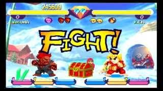 Pocket Fighter [AKUMA] (PS1 classic PSN/PS3) #73 LongPlay HD