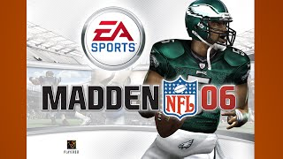 Madden 06 Gameplay Eagles Cowboys PS2 {1080p 60fps}