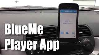 How to play music over the Blue&Me system with the BlueMe Player app for iPhone for Fiat 500