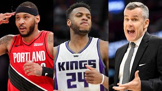Chicago Bulls Rumors! Buddy Hield Trade? Carmelo Anthony Reunion With Billy Donovan?