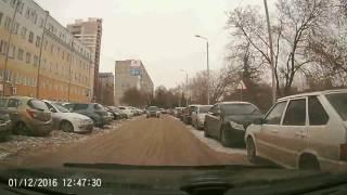 Автохам на ул. Щербанева (01.12.2016)