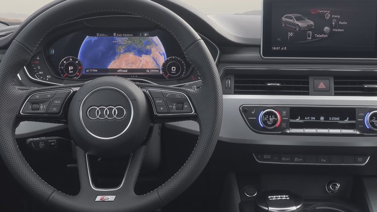 audi virtual cockpit wirtualny kokpit prezentacja i. Black Bedroom Furniture Sets. Home Design Ideas