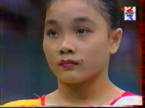 1996 Olympics gymnastics EF (French Tv coverage)