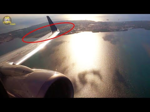 STUNNING Cayman Islands Views: American Boeing 737-800 POWERFUL Takeoff From George Town! [AirClips]