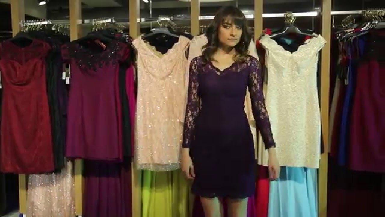 1fc09b0c80bc5 Uzun Kollu Gece Elbisesi - YouTube