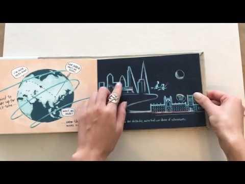 Custom Illustration Storybook (+ DIY Accordion Book Process)