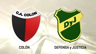 Colon de Santa Fe vs Defensa y Justicia full match