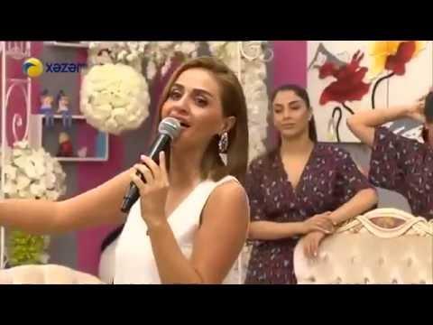 Azeri kizi Gunel, Tunar - Azeri mahnilari canli ifa