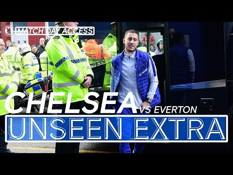 Access All Areas Everton Vs Chelsea | Unseen Extra