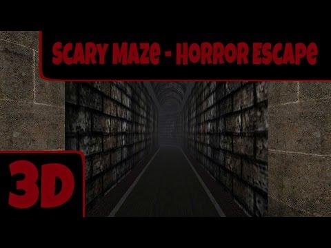 Scary Maze - Horror Escape 3D - ЛАБИРИНТ СТРАХА! ПРОХОЖДЕНИЕ! ANDROID GAME