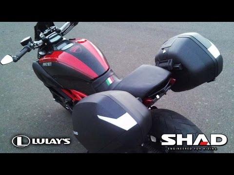 Ducati Diavel Hard Luggage