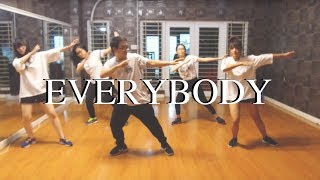 Everybody ( Backstreet Boys) / Pun Choreography / Urban Dance Class (beginner)