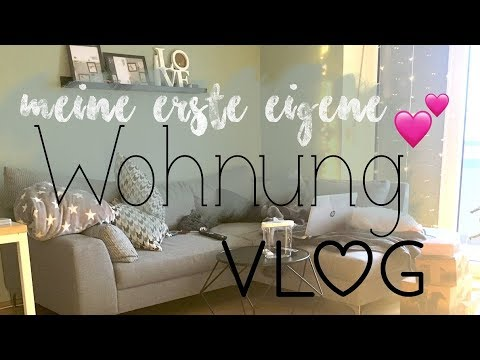 daily vlog meine erste eigene wohnung youtube. Black Bedroom Furniture Sets. Home Design Ideas