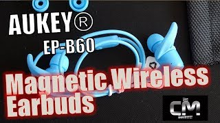 Aukey EP-B60 Test Magnetic Wireless Earbuds - Hands-on (Deutsch)