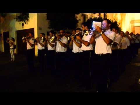 El Huerto de Córdoba, acompañado de la Banda de Cornetas de la Elevación de Campo de Criptana