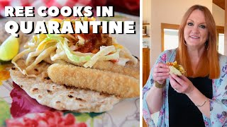 The Pioneer Woman Makes Fish Stick Tacos in Quarantine | Food Network