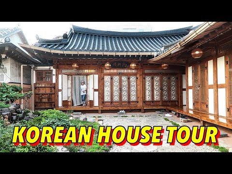 Traditional Korean House Tour ► Hanok in Jeonju